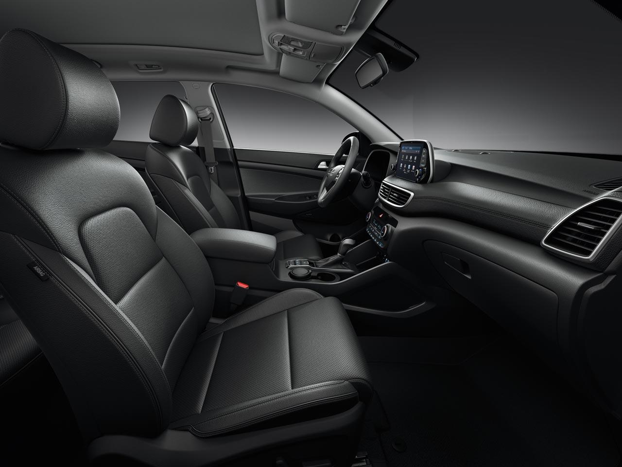 Interior Nueva Hyundai Tucson 2019