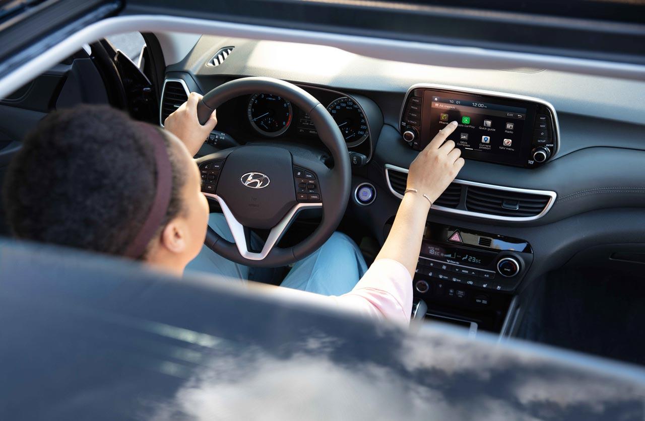 Interior Hyundai Tucson 2019