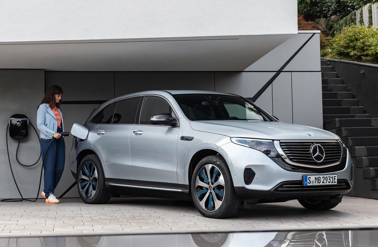 EQC, el SUV eléctrico de Mercedes-Benz