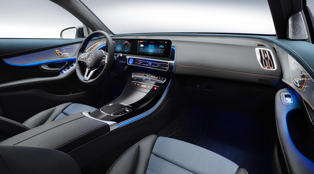 Interior Mercedes-Benz EQC