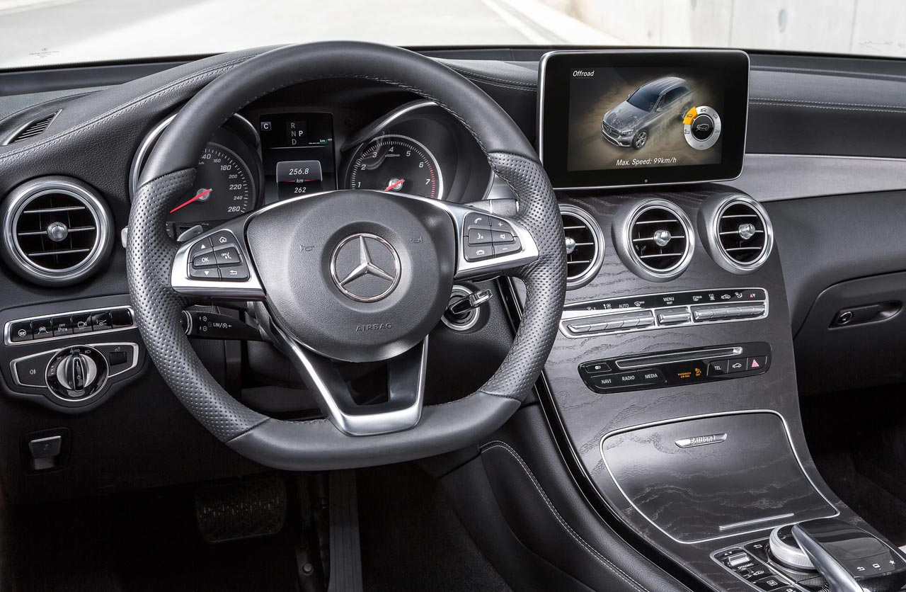 Interior Mercedes-Benz GLC 350e