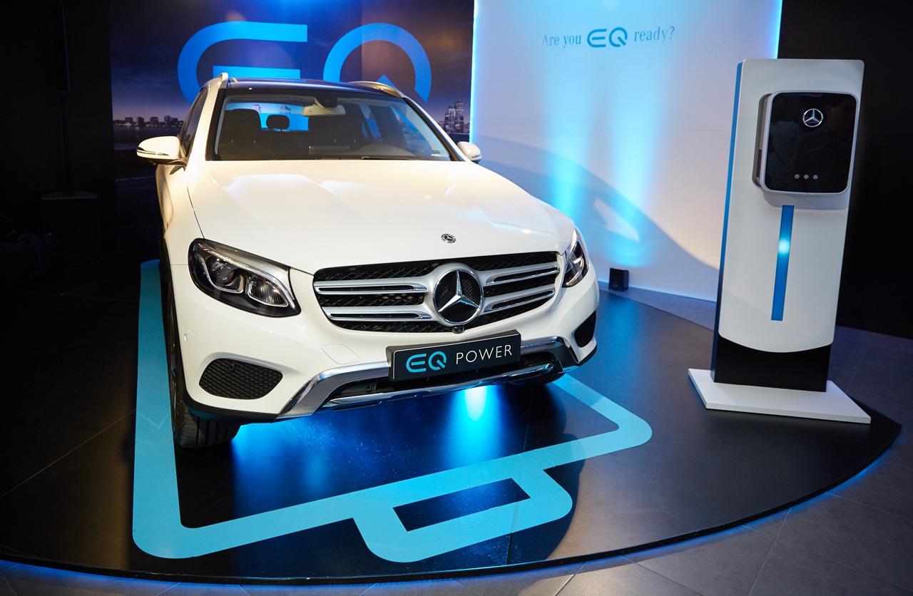 Mercedes-Benz EQ desembarcó con el GLC 350e 4Matic