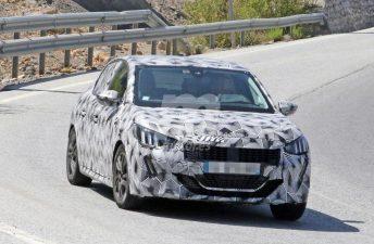 El próximo Peugeot 208 va tomando forma