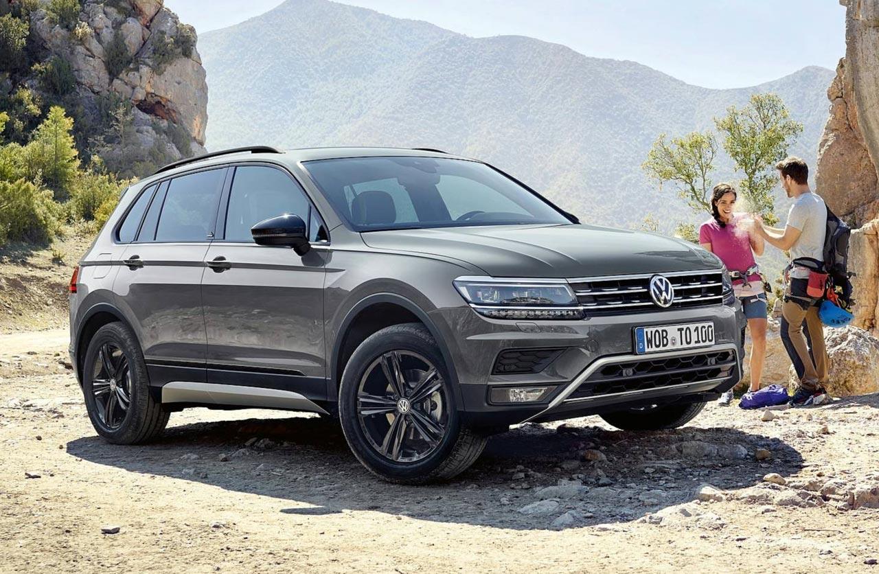 Una Volkswagen Tiguan más todoterreno