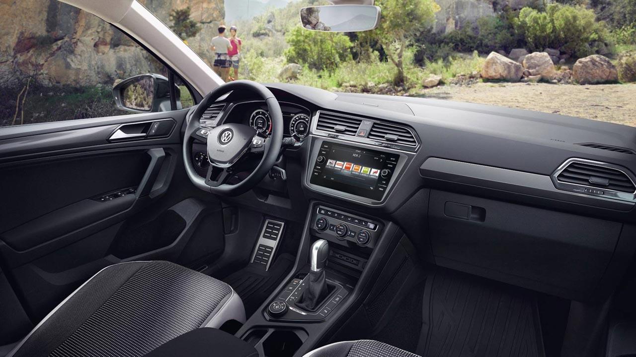 Interior Volkswagen Tiguan Offroad