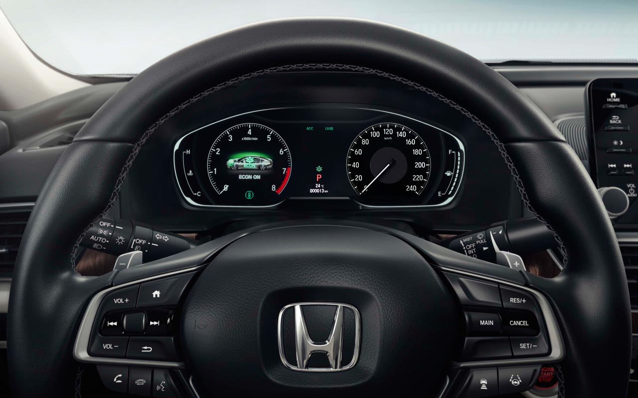 Interior Honda Accord 2018