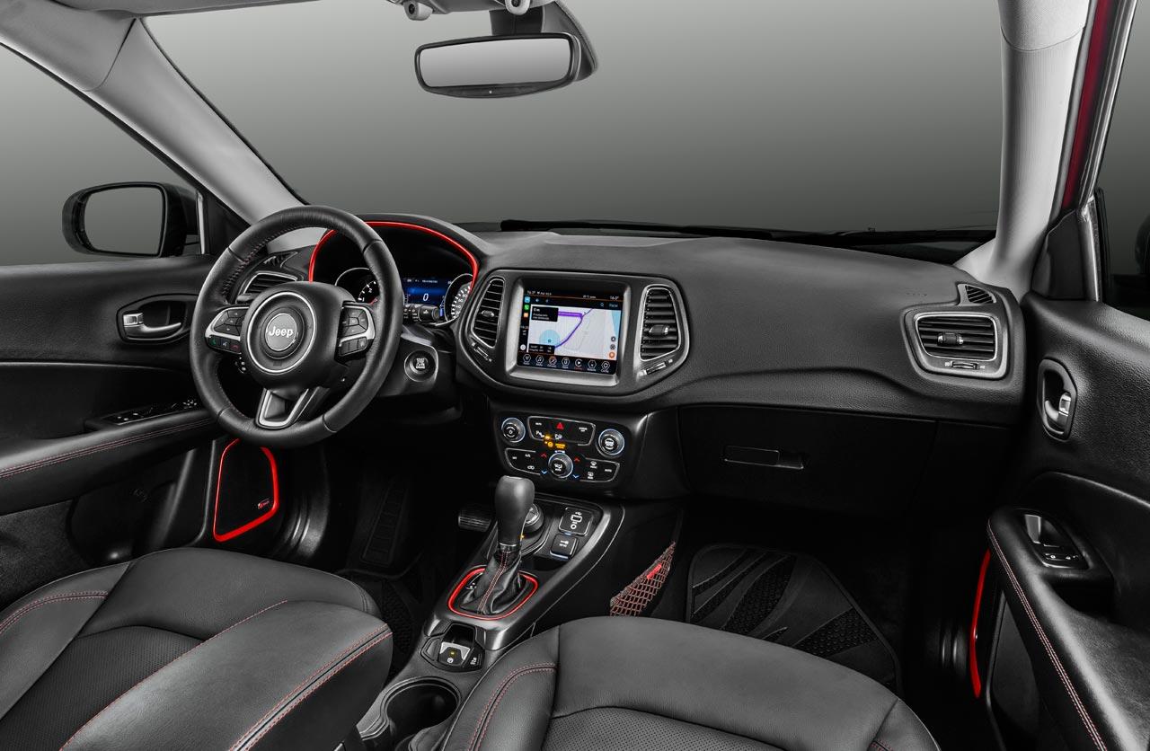 Interior Jeep Compass 2019