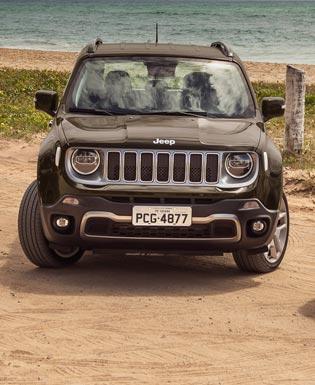El nuevo Jeep Renegade debutó en Brasil