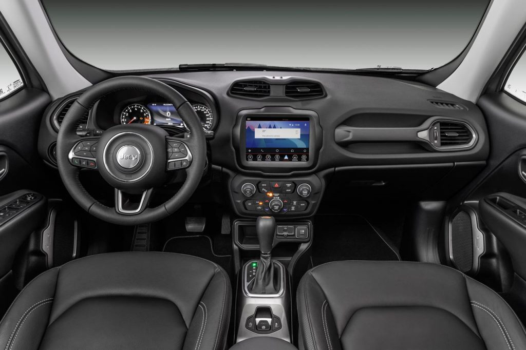Interior Jeep Renegade 2019