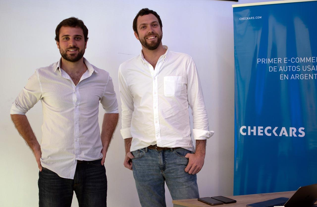Jaime Macaya y Juan Cruz de la Rúa (Checkars)
