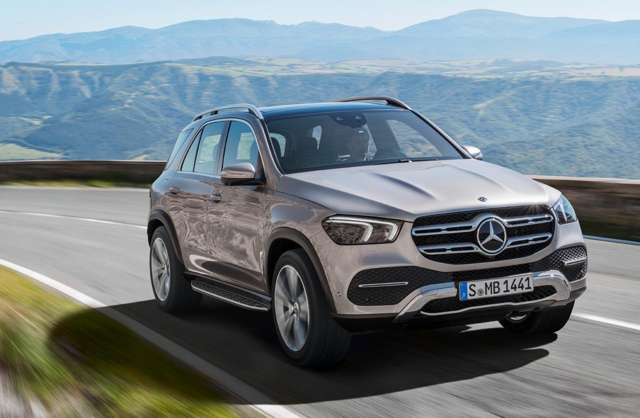 Así es el nuevo Mercedes-Benz GLE