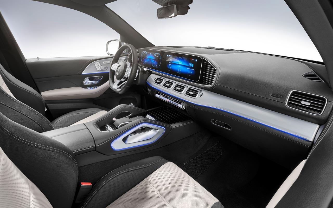 Interior Mercedes-Benz GLE 2019