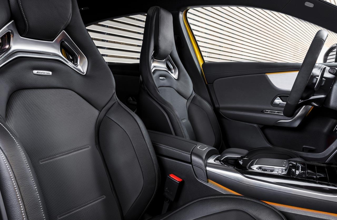 Interior Mercedes AMG Clase A