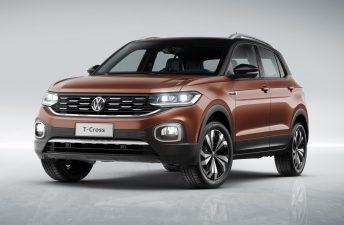 El Volkswagen T-Cross pone primera en Brasil