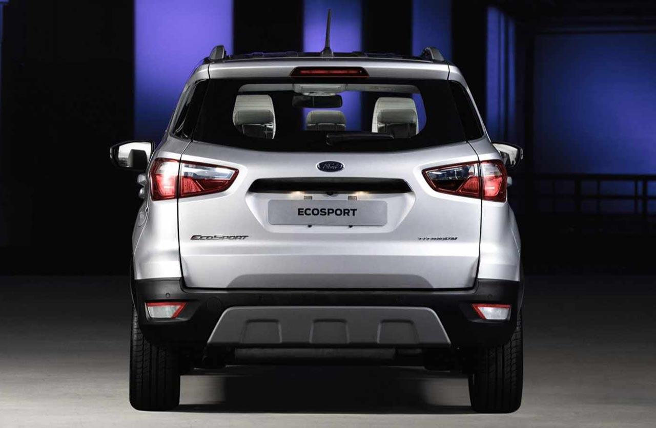 La Ford Ecosport Sin Rueda De Auxilio Llegara A La Region Mega Autos