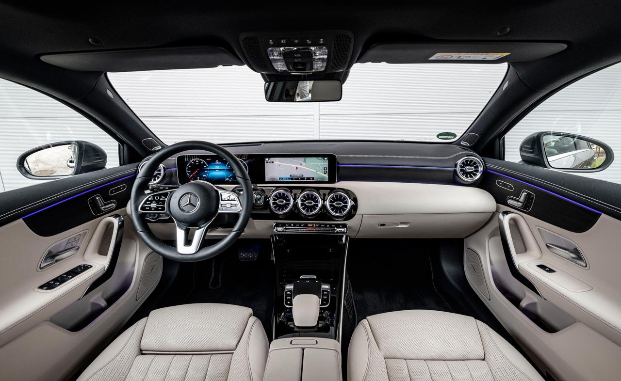 Interior Nuevo Mercedes-Benz Clase A
