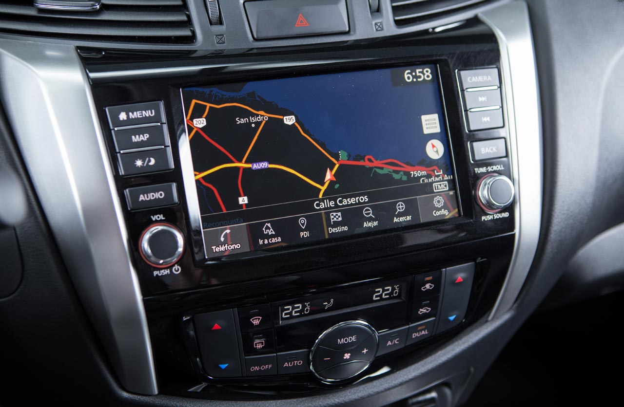 Interior Nissan Frontier
