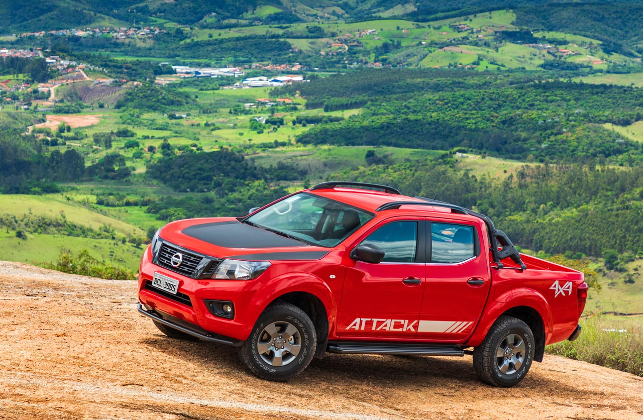 La nueva Nissan Frontier argentina llegó a Brasil