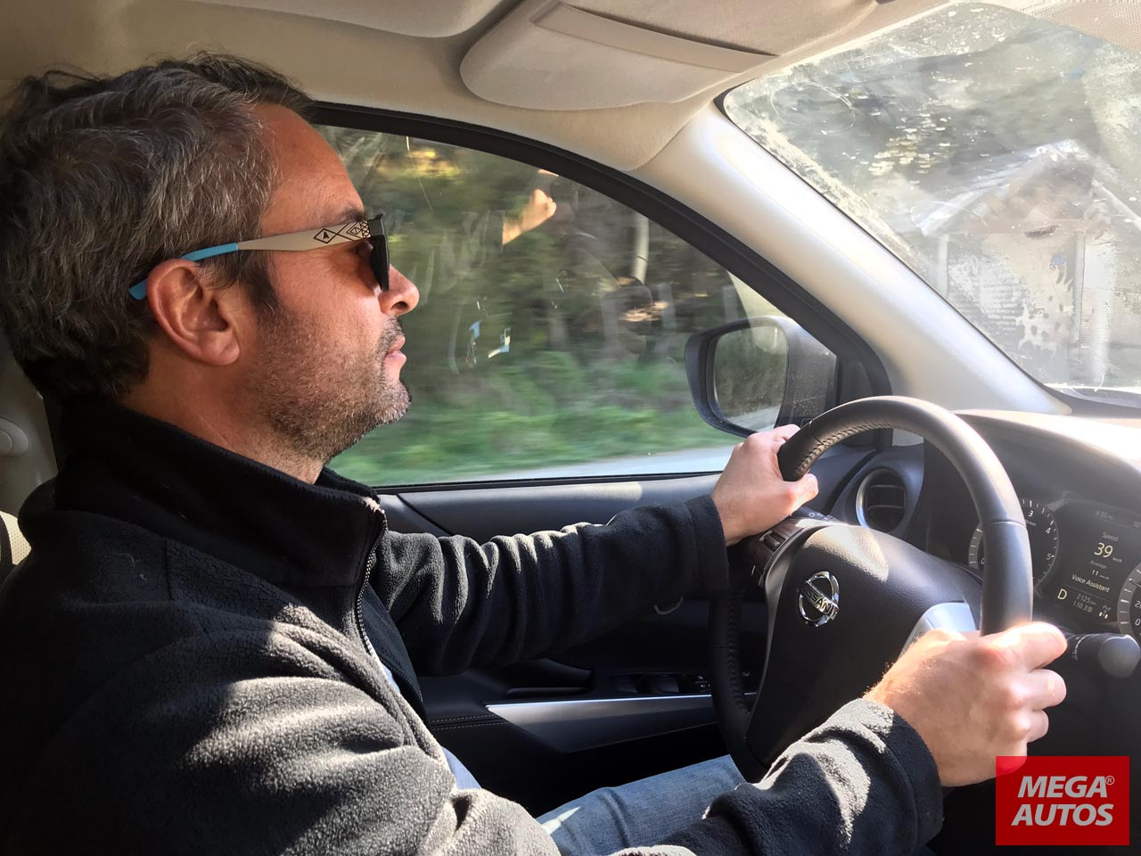 Prueba Nissan Frontier en Bariloche