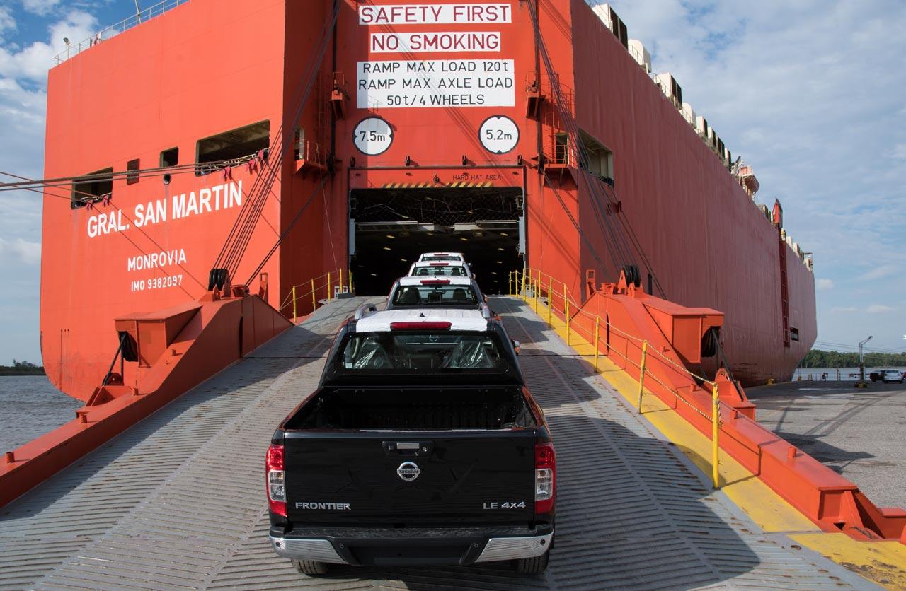 Nissan Frontier Argentina - Brasil