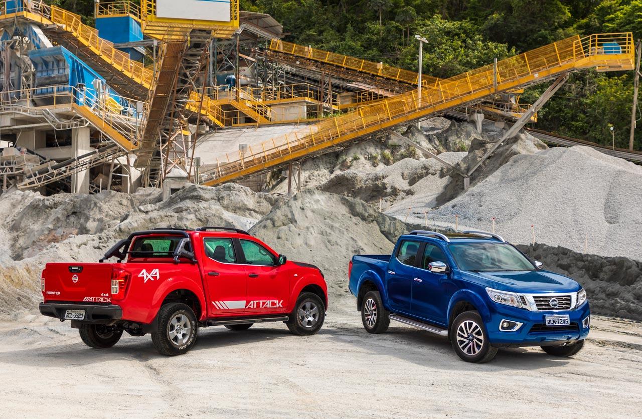 Nissan Frontier LE y Attack