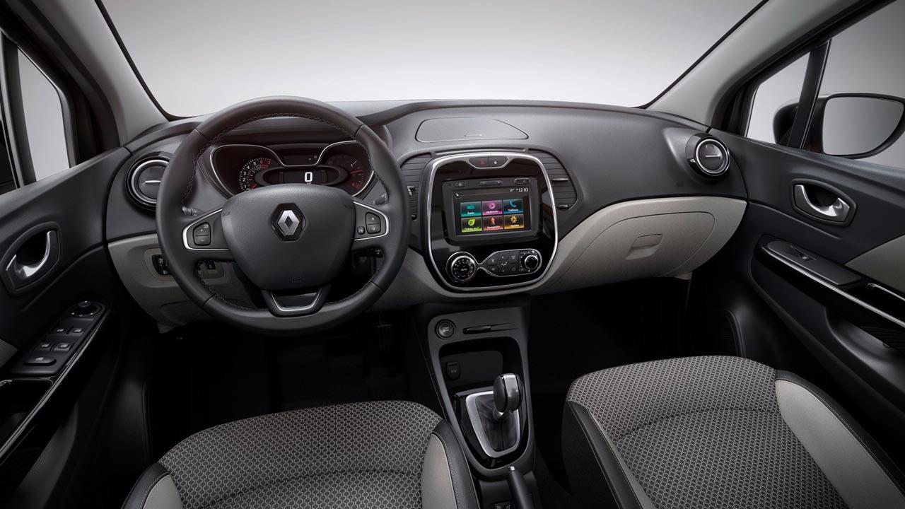 Interior Renault Captur Le Coc Sportif