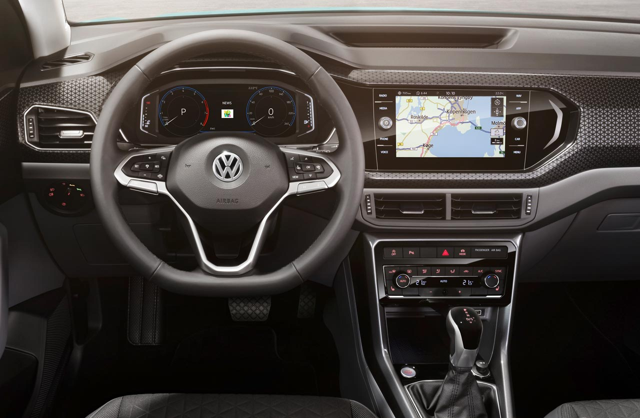 Interior Volkswagen T-Cross Europa