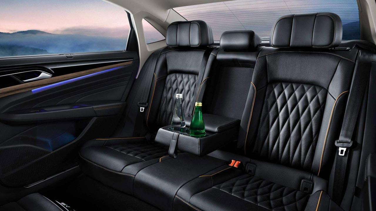 Interior Volkswagen Passat 2018 China
