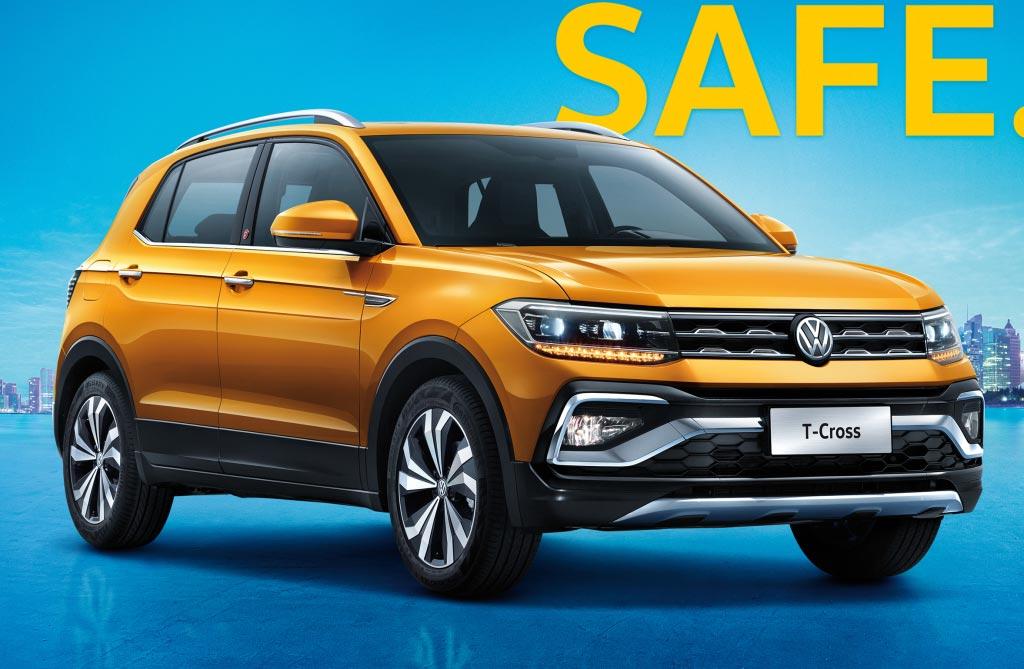 Así es el Volkswagen T-Cross para China