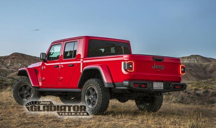 Se filtró la nueva pick up del Jeep Wrangler