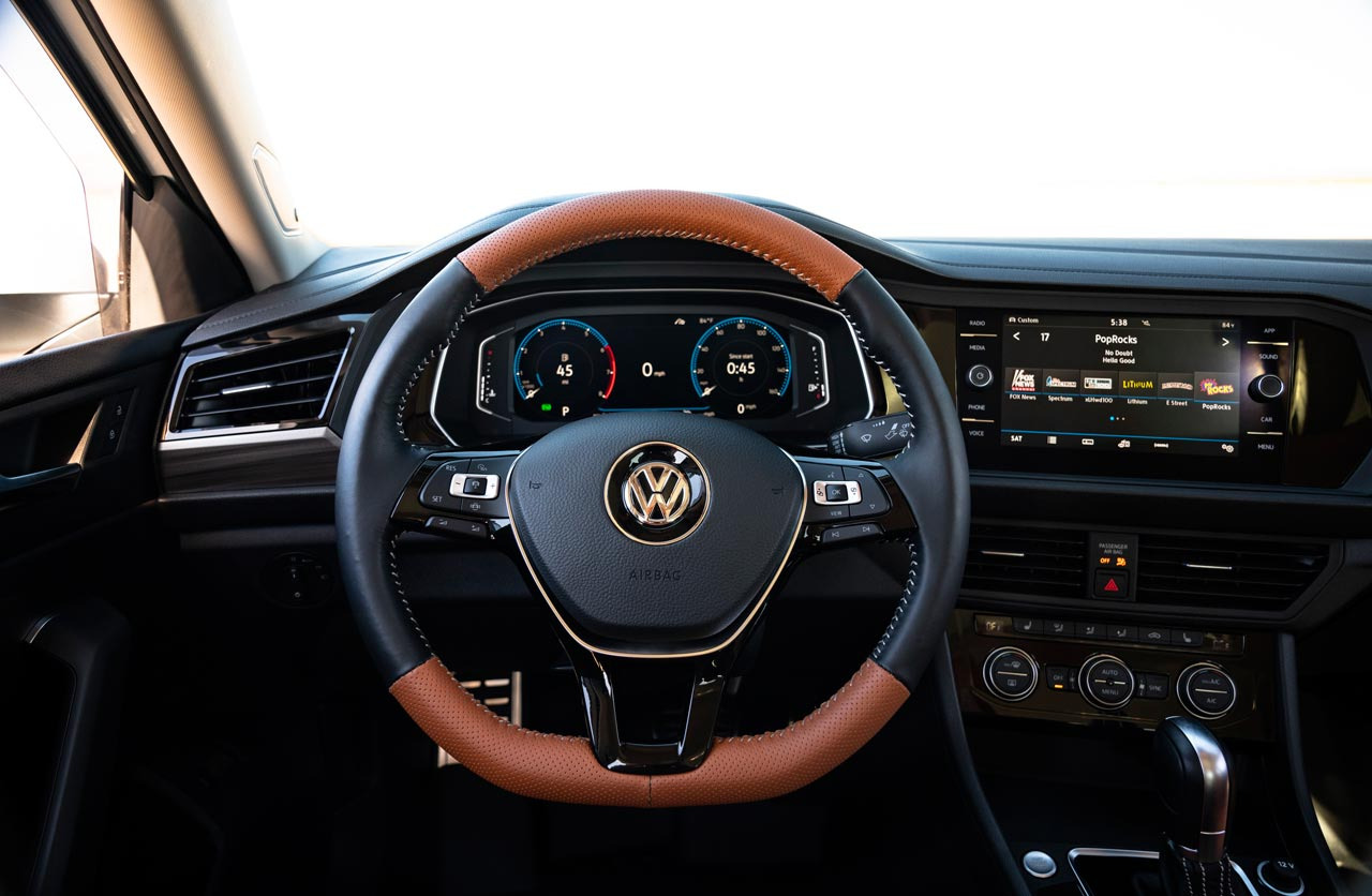 Interior Jetta SEL Air Design USA