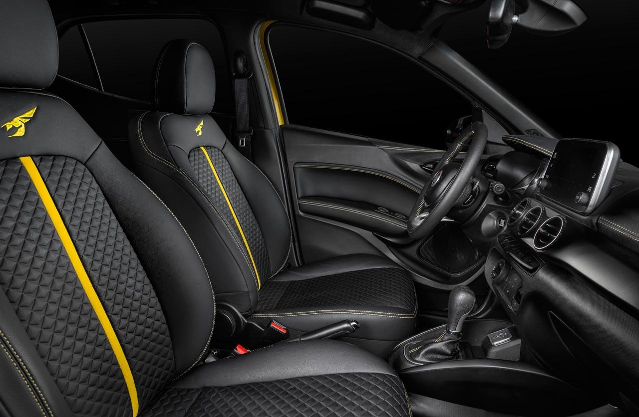 Interior Fiat Argo Sting