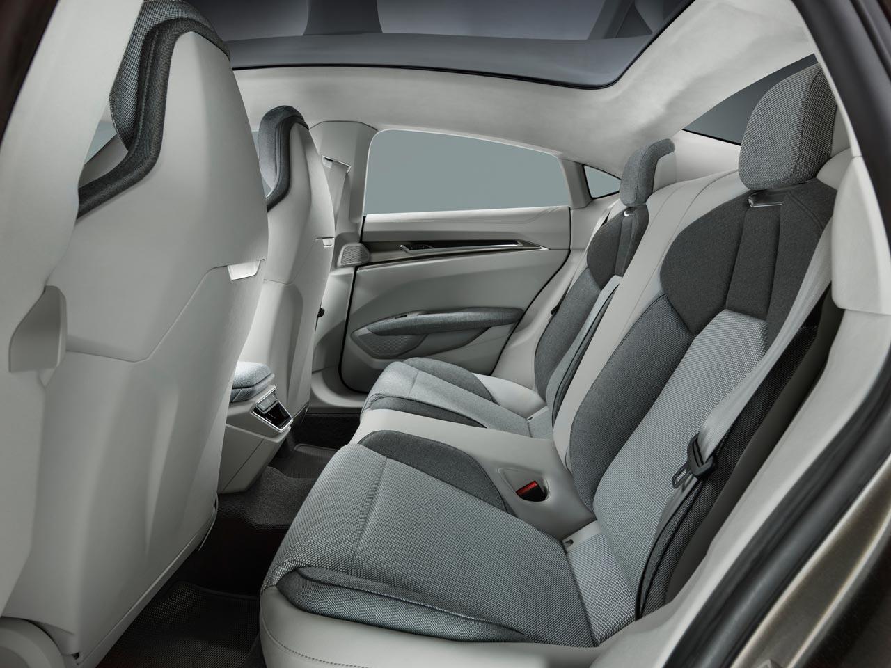 Interior Audi e-tron GT concept