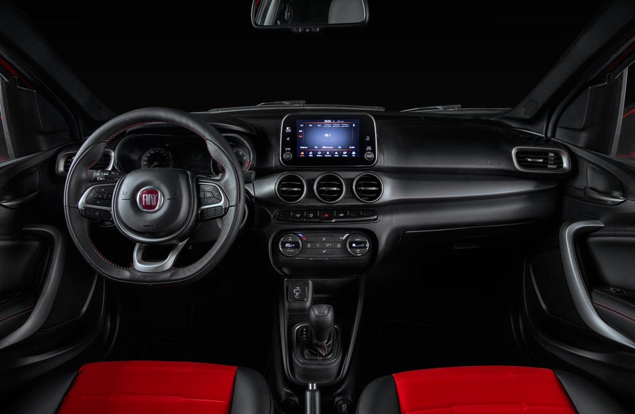 Interior Fiat Cronos Sport