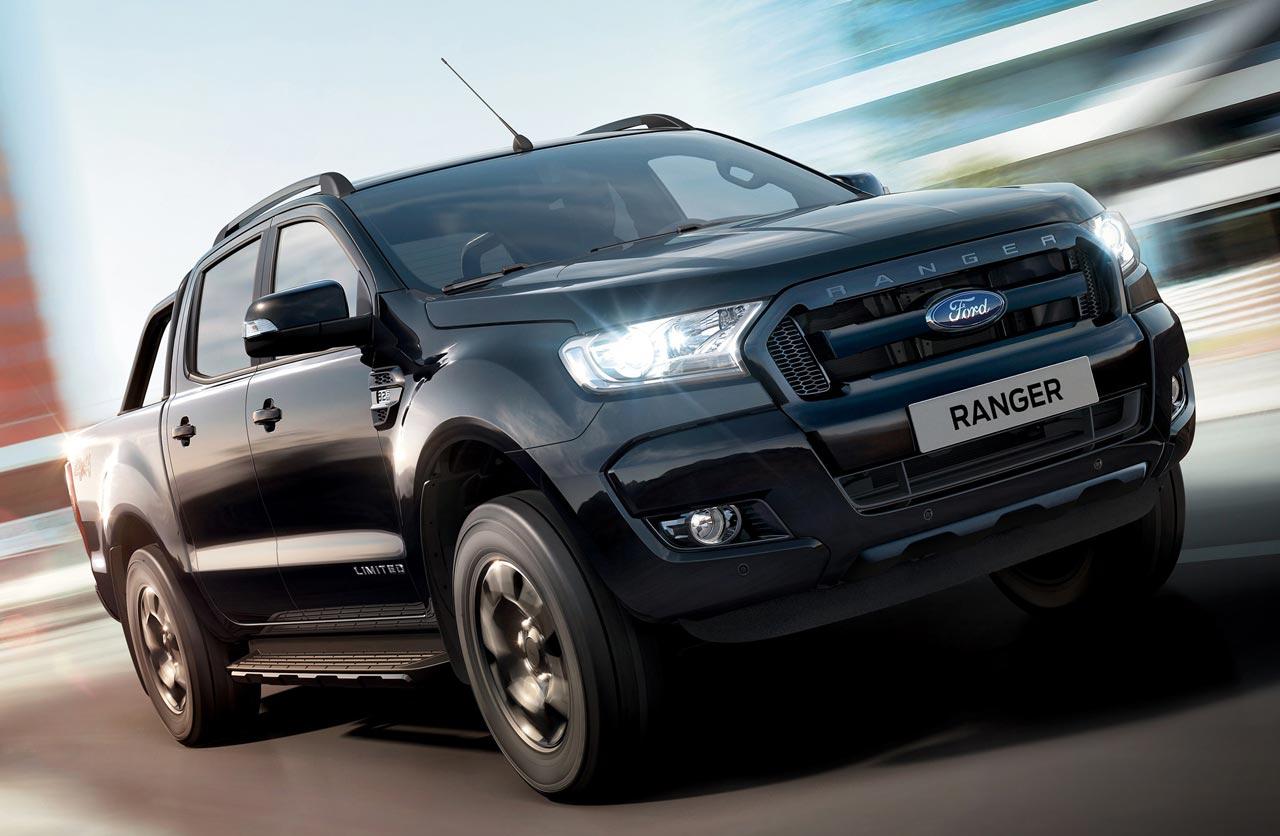 Ford lanzó la Ranger Black Edition
