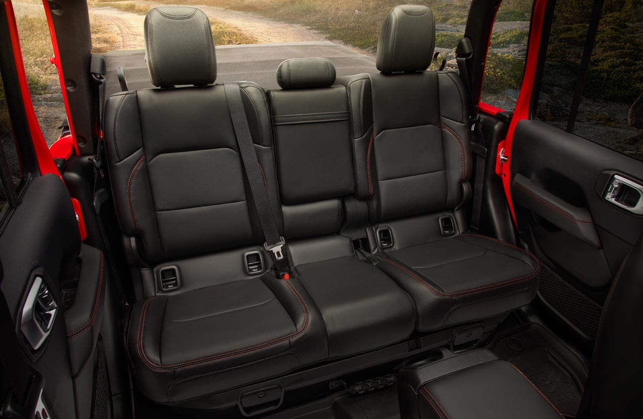 Interior Jeep Gladiator