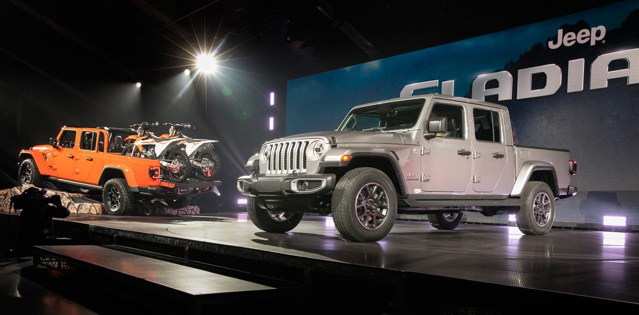 Presentación Jeep Gladiator