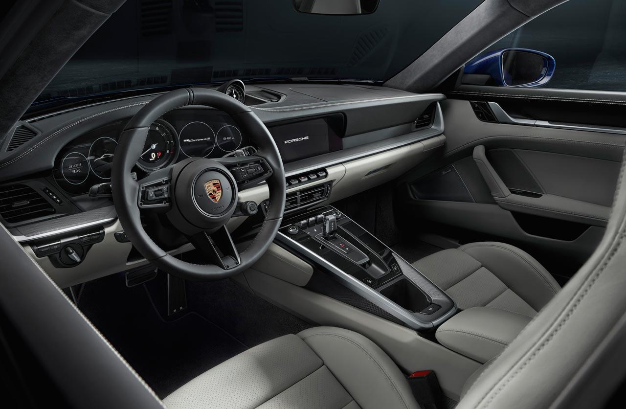 Interior Porsche 911 (992)