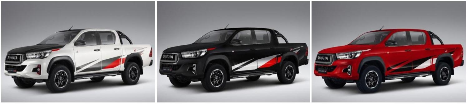 Colores Toyota Hilux GR Sport