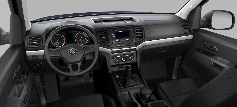 Interior Volkswagen Amarok Trendline