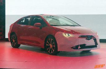 Antes de tiempo: el nuevo Toyota Corolla apareció en China