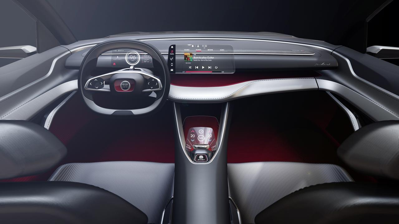 Interior Fiat Fastback