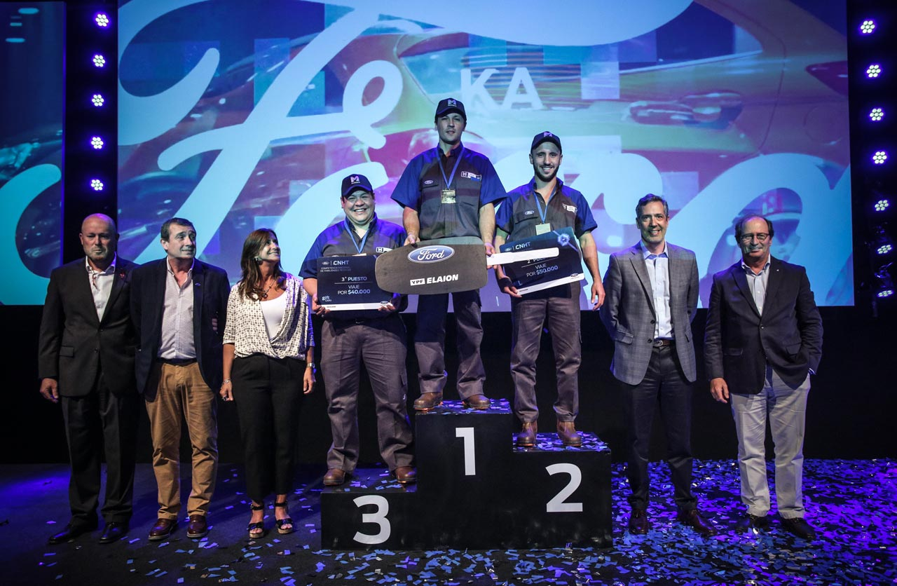 Ganadores Ford Competencia Nacional de Habilidades Técnicas 2018