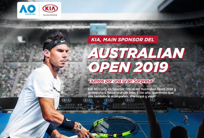 Un test drive diferente: viajá con Kia al Australian Open