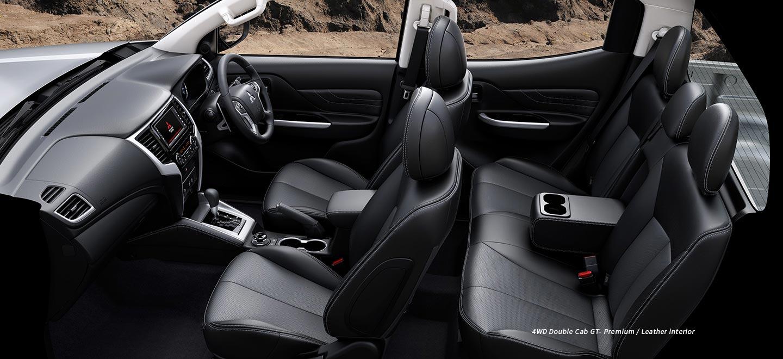 Interior nueva Mitsubishi L200 2019