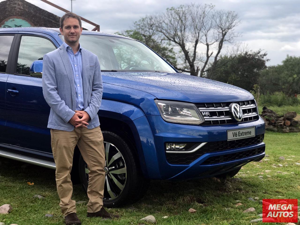 Nicolás Matavos, Brand Manager de Vehículos Comerciales de Volkswagen Argentina