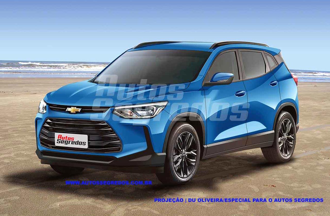 Anticipan la próxima Chevrolet Tracker