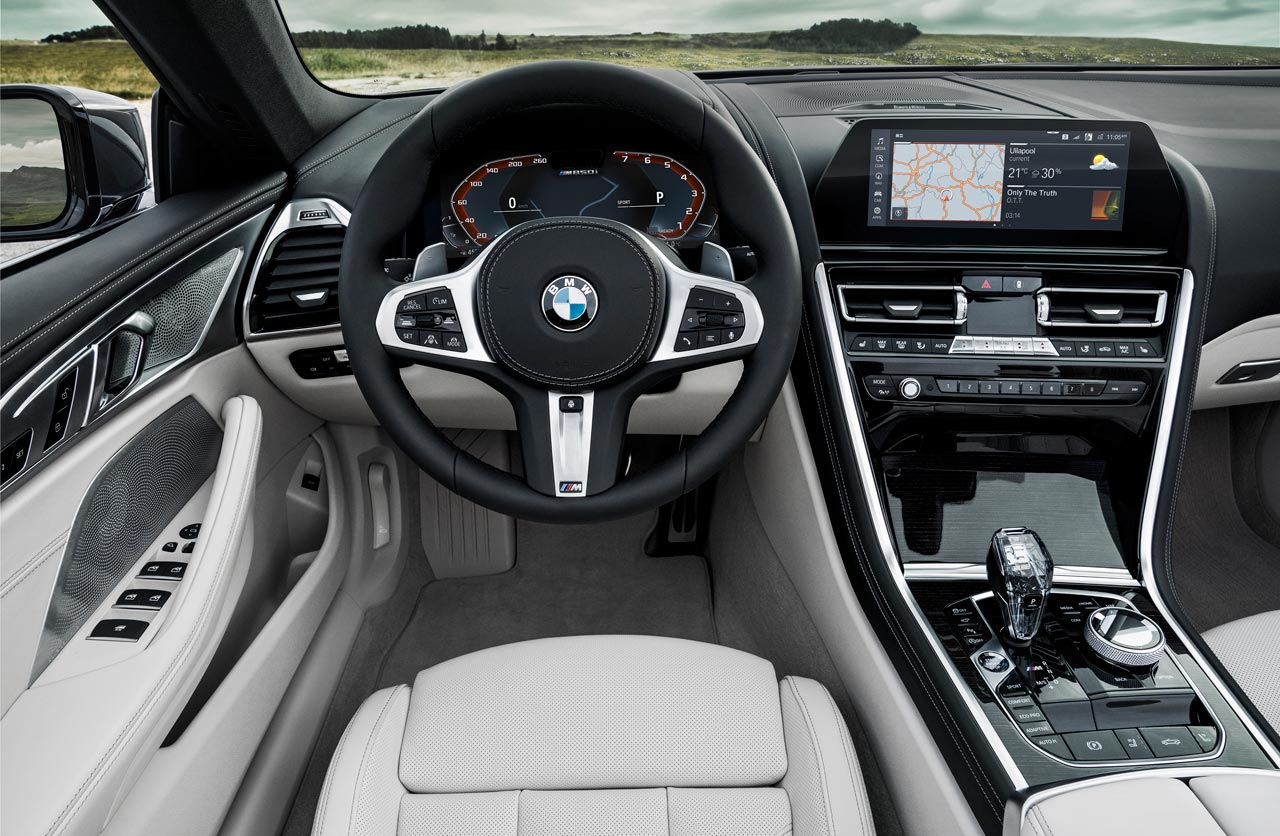 Interior BMW Serie 8 Cabrio