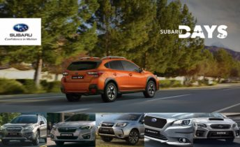Subaru Days: 0 km con precios especiales y regalos