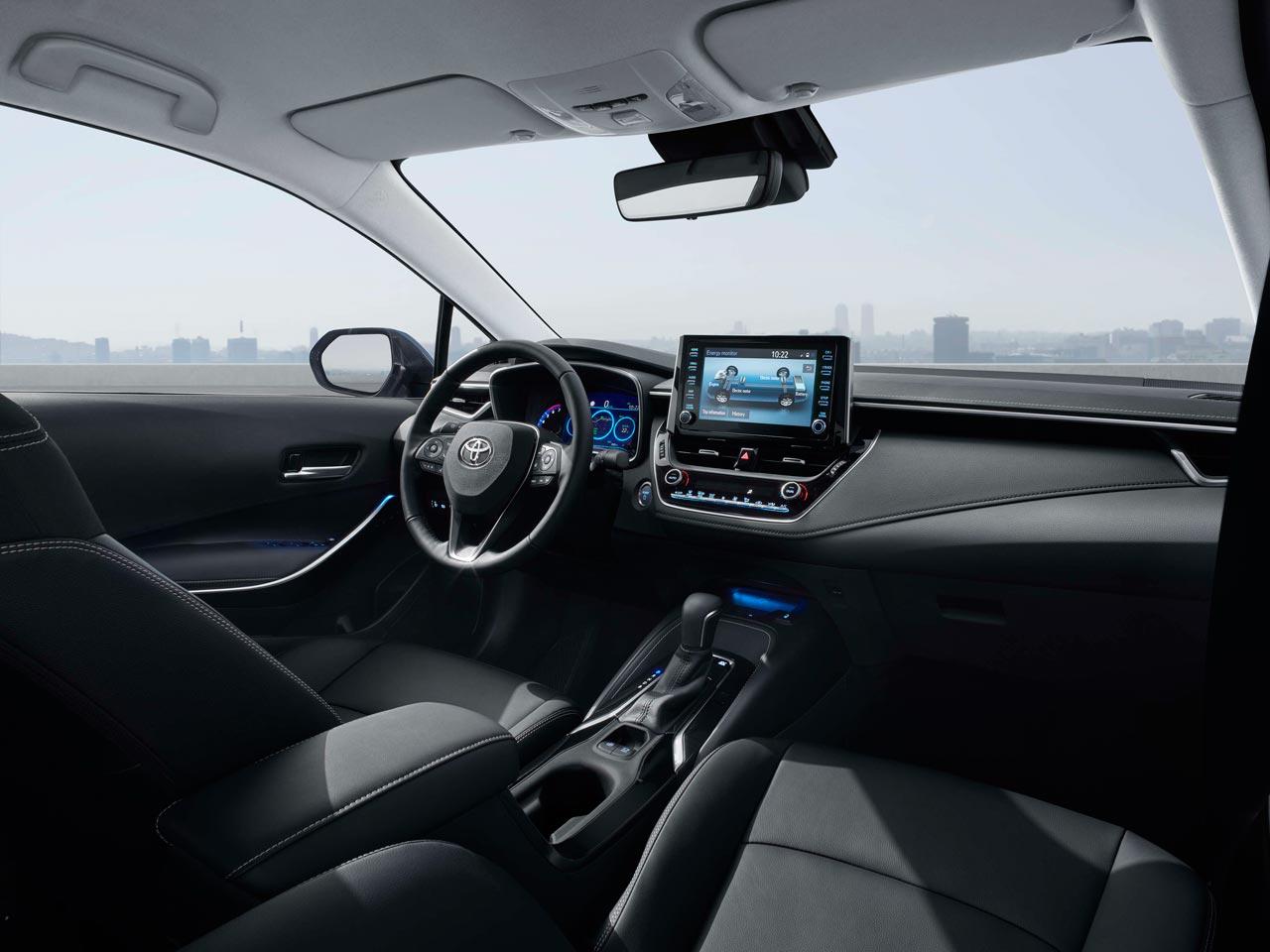 Interior Toyota Corolla 2020 Europa